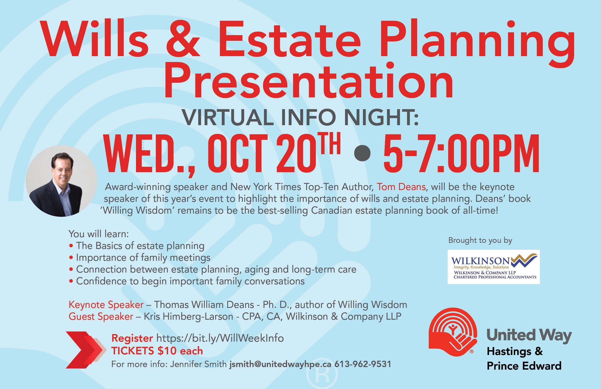 Wills & Estate Planning Presentation